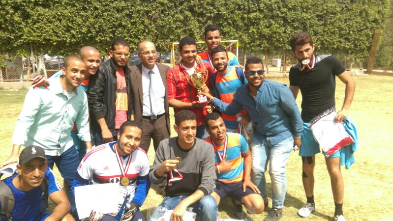 Giza team wins the championship 6