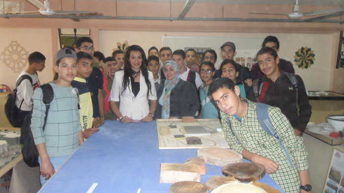 gei students visit 2018 19