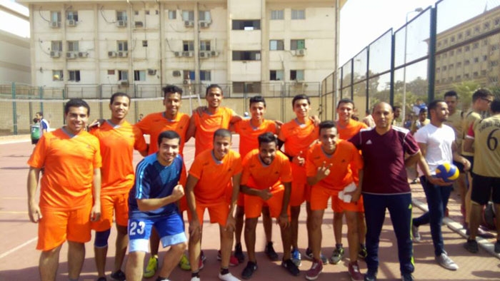 GEI volleyball team wins the league 3